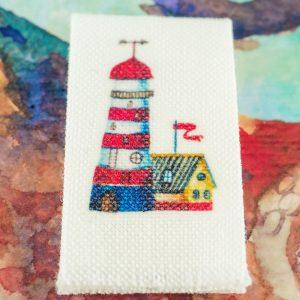 Lighthouse Nautical Tea Towel