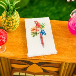 Scarlet Macaw Tea Towel