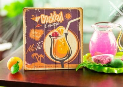 Cocktail Lounge Sign – Assorted Cocktails
