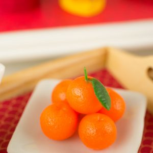 Mandarin Oranges – Chinese New Year – Lunar New Year – 1:12 Dollhouse Miniature