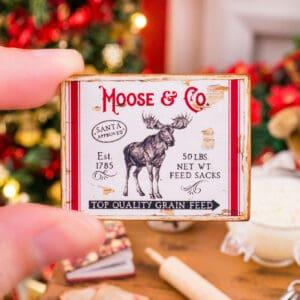 Moose & Co. Sign