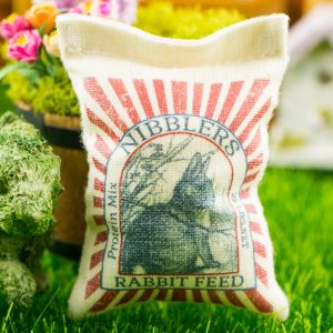 Nibblers Rabbit Feed Bag