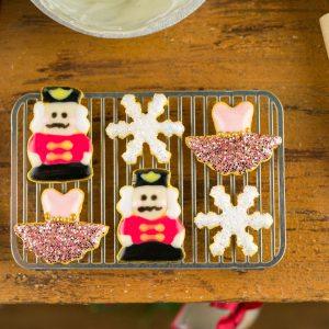 Nutcracker Suite Cookies – Set #1 – Half Dozen