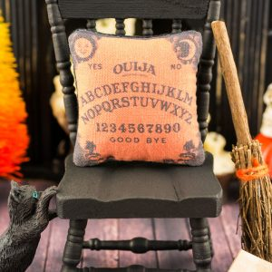 Vintage Ouija Halloween Pillow