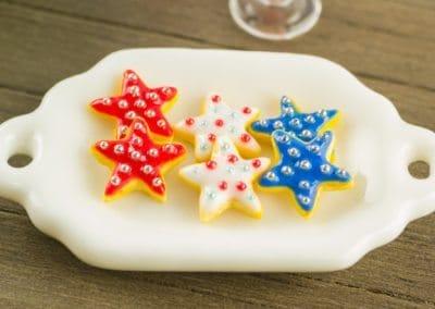 Patriotic Star Cookies
