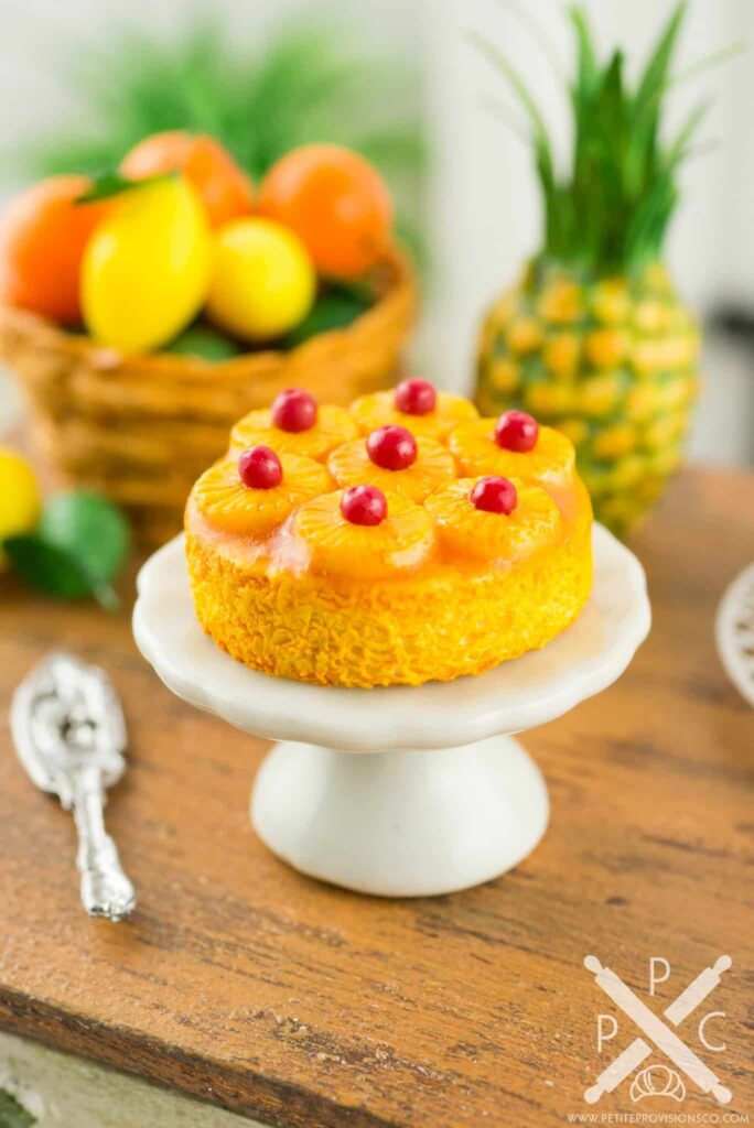 Old Fashioned Recipe Pineapple Upside Down Cake