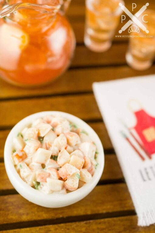 Dollhouse Miniature Potato Salad - 1:12 Dollhouse Miniature Food