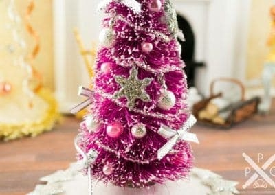 Pretty in Pink Decorated Christmas Tree