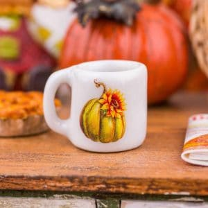Decorative Autumn Mug – Assorted Designs