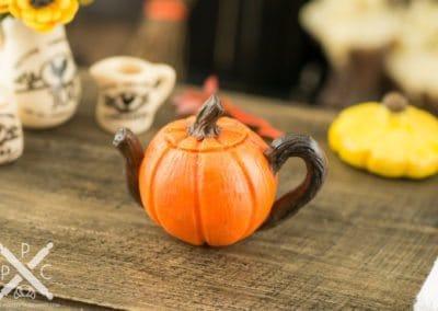 Rustic Pumpkin Teapot