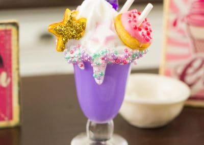 Purple Unicorn Freak Shake