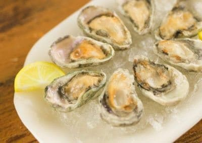 Raw Oysters on the Half Shell – Raw Bar