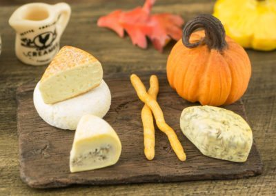 Gourmet Fall Cheese Board with Pumpkin