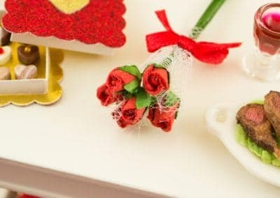 Valentine's Day Long Stemmed Red Rose Bouquet