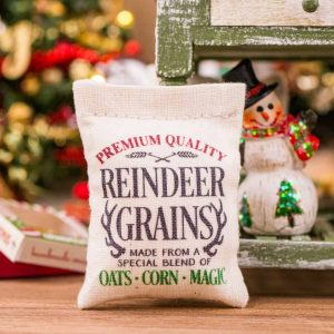 Reindeer Grains Feed Bag