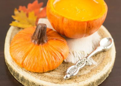 Rustic Pumpkin Soup Tureen