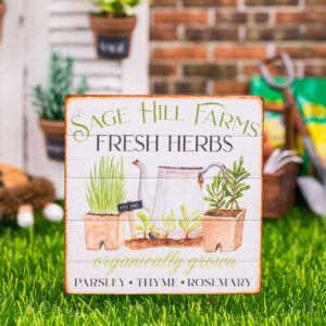 Sage Hill Farms Sign
