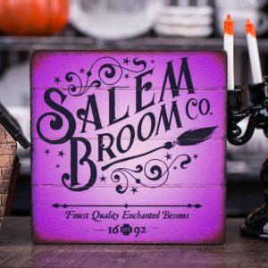 Salem Broom Co. Sign