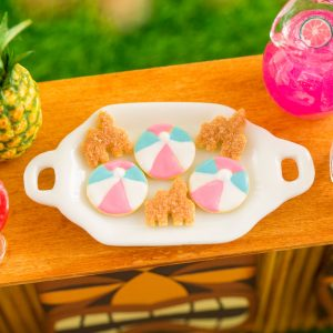 Sandcastles and Beach Balls Cookies – Half Dozen