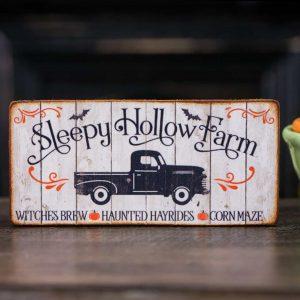 Sleepy Hollow Farm Sign