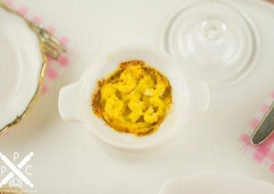 Macaroni and Cheese in Covered Casserole