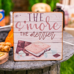 The S'More the Merrier Sign