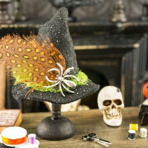 Spider Witch Hat Decoration
