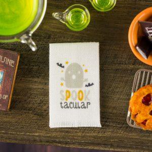 Spooktacular Tea Towel