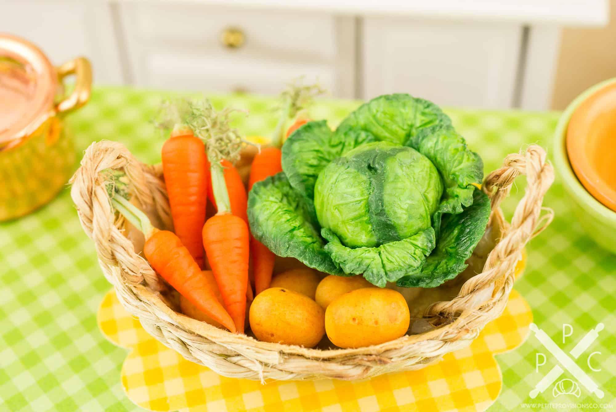 Spring Vegetable Basket ...