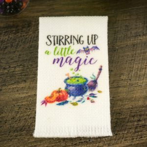Stirring Up A Little Magic Tea Towel