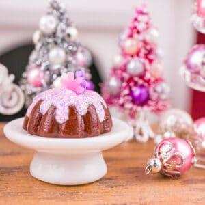 Christmas Sugarplum Fairy Bundt Cake