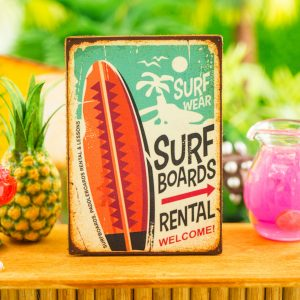 Surf Board Rental Sign