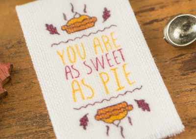 Pumpkin Pie Autumn Tea Towel