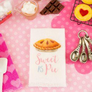 Sweet as Pie Tea Towel
