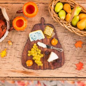 Autumn Pumpkin Cheese Board with Fruit