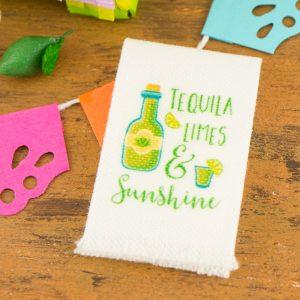 Tequila Limes & Sunshine Tea Towel