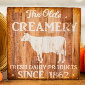 The Olde Creamery Sign