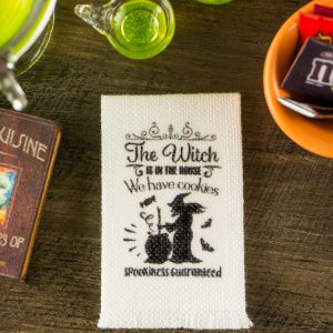 The Witch Is In The House Tea Towel