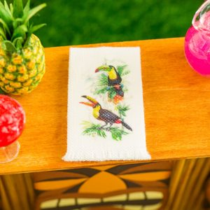 Toucans Tea Towel