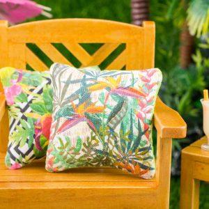 Tropical Bird of Paradise Pillow