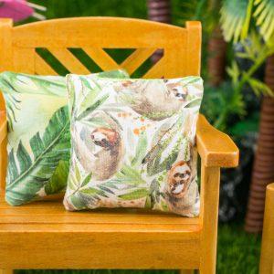 Tropical Sloth Pillow