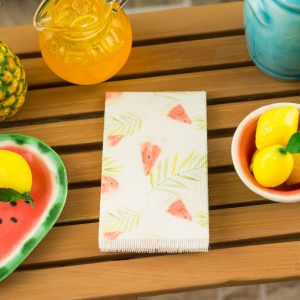 Tropical Watermelon Tea Towel