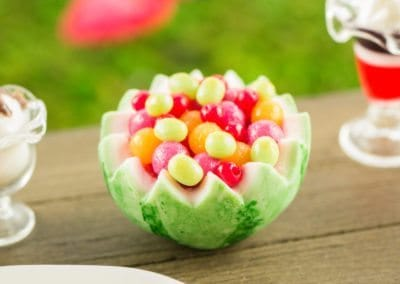 Watermelon Bowl with Fruit Salad