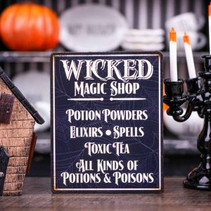Wicked Magic Shop Sign