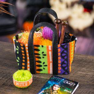 Witch's Knitting Bag Set