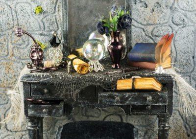 Haunting Halloween Witch's Vanity
