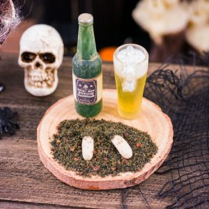 Witch's Brew Potion Beer and Finger Food Set