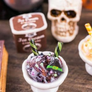 Witchy Ice Cream Sundae