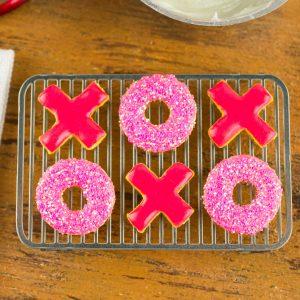 Valentine's Day Xs and Os Cookies – Half Dozen